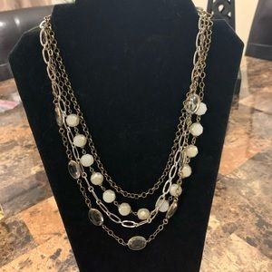 MULTI LAYERED NECKLACE GREAT COLORS!!!